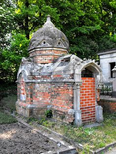 Although perhaps a bit macab, I loved walking through old cemetaries and looking at the Mausoleums in Mainz, Germany.  Such beautiful gothic art.