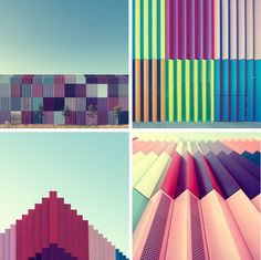 Munich-based photographer Nick Frank is an absolute genius when it comes to transforming dull, ordinary buildings into fascinating images.