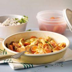 Karotten-Puten-Pfanne mit Wildreis Rezepte | Weight Watchers