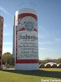 Giant Beer Can in Lavaca, Arkansas. Would see this every time I would go to work with my mom as a kid.