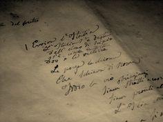 """Diciassette Marzo (anteprima...) Manoscritto originale del """"Canto degli Italiani"""" (noto anche come l'Inno di Mameli""""Scitto da Goffredo Mameli(1827-1849)e musicato da Michele Novaro (1818-1885).Eseguito in pubblico a Genova il 10 dicembre 1847,dal1946 è l'Inno della Repubblica Italiana."""