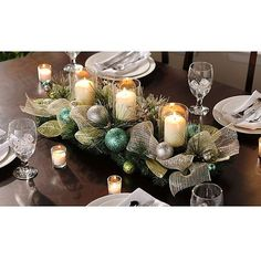 Heavenly Holidays Ornament Centerpiece | Kirklands