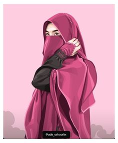 Cartoon Girl Images, Cartoon Pics, Cute Cartoon Wallpapers, Girl Cartoon, Hijabi Girl, Girl Hijab, Islamic Girl Images, Caricature, Vector Character