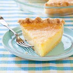 Pie - Lemon Chess Pie