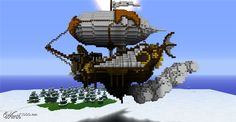 minecraft steampunk gear - Google Search