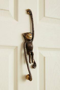 Add pizzazz to your home with a special door knocker #doorknocker