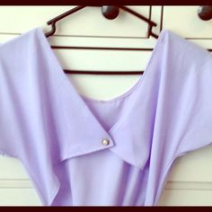Urban Outfitters Lavender Romper Sheer lavender romper with cute cut out back Urban Outfitters Shorts