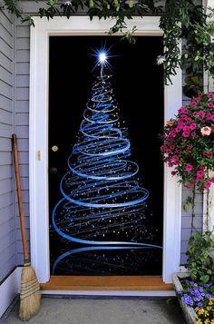 46 Best Christmas Door Cover Images