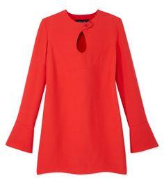 Derek Lam: Longsleeve Keyhole Dress
