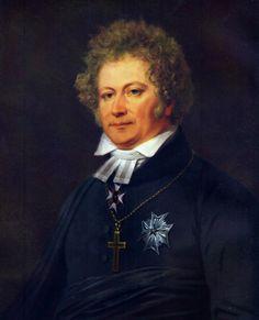 Esaias Tegnér, en av Rydbergs absoluta favoritförfattare (tillsammans med Stagnelius och Vergilius) och förebild. De båda träffades under R. gymnasietid i Växjö.