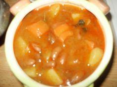 Sýta fazuľová polievka (fotorecept) - obrázok 6