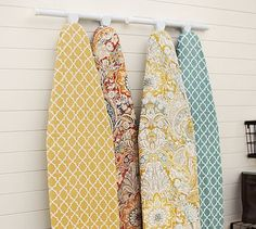 I need a new ironing board cover, and no pinterest i don't want to make it myself. these are cute from pottery barn