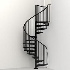 Arke Enduro 63 in. Galvanized Steel Spiral Staircase - The Home Depot Arke Enduro 63 in. Galvanized Steel Spiral Staircase - The Home Depot Modular Staircase, Spiral Staircase Kits, Staircase Design, Staircase Ideas, Spiral Staircases, Staircase Storage, Staircase Makeover, Curved Staircase, Stair Kits