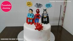 lockdown birthday cake design ideas for kids decorating things to do easy simple activities Happy Birthday Papa Cake, Easy Kids Birthday Cakes, Easy Cakes For Kids, Avengers Birthday Cakes, Birthday Cake Gift, Animal Birthday Cakes, Superhero Birthday Cake, Frozen Birthday Cake, Baby Shower Cake Designs