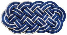 SerpentSea Mat - Nautical Rope bathroom mat #GQ