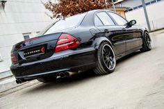 Mercedes-Benz W211 E500 by Kleemann Domanig #mbhess #mbtuning #kleemann
