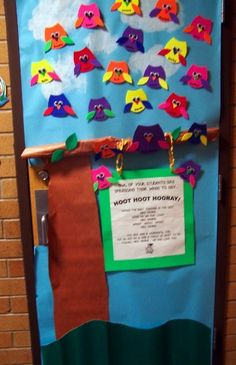 Teacher Appreciation Door ideas. Many cute doors decorations!! My favorite, Thanks for all you DEW!! (with a Mtn Dew can).