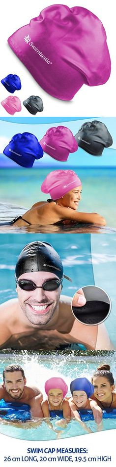 Swim Caps 117162: Swimtastic Long Hair Swim Cap Purple Specially Designed For Swimmers With Thi -> BUY IT NOW ONLY: $59.86 on eBay!