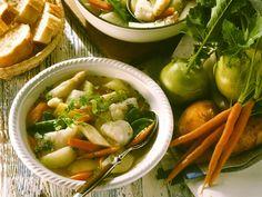 Suppe mit Fisch und Gemüse - smarter - Zeit: 30 Min. | eatsmarter.de