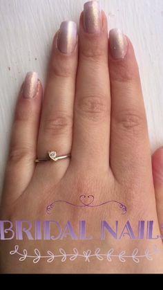 The Pefect Bridal Nails Nail Tutorial