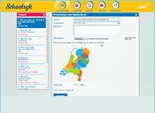 Schoolrijk is een gratis website voor het maken en delen van digitale lessen en toetsen. http://app.schoolrijk.nl/aanmelden