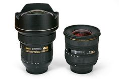 Nikon 14-24 vs. Sigma 10-20 + blog on pros & cons of big professional lenses.