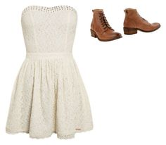 """Untitled #52"" by jadebrown1204 on Polyvore featuring Superdry and Frye"