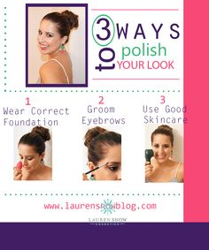 Beauty Secrets. Beauty tips. Makeup. beautyblender. Clarisonic. Skincare. Eyebrows. Foundation. Lauren Snow. Lauren Snow Blog.