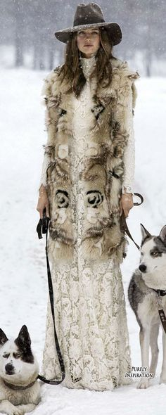 Ralph Lauren Fall 2015 Collection Campaign   Narrative is an arctic paradise, living in a woodland in luxury and at home