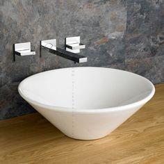 42cm Diameter Round Fano Counter Top Basin