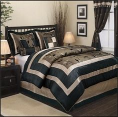 Nanshing Pastora Queen 7 Piece Comforter Set #hiddentreasuresdecorandmore