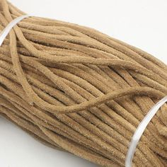 natural leather cord