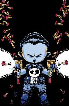 Punisher by Skottie Young *