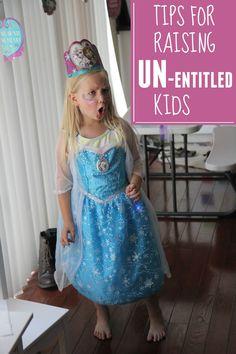Tips for Raising Un-Entitled Kids.