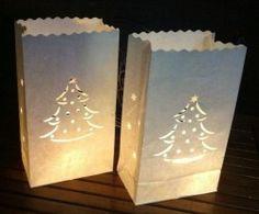 Candle Bag Kerstboom (10 stuks)