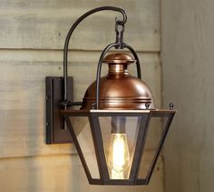 Case Indoor/Outdoor Sconce   Pottery Barn Design Inspirations