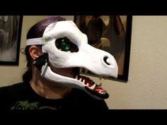 Alucinante, mandibula abatible y velociraptor completo en video