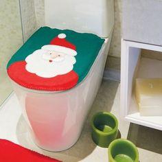 Espaço Infantil – Jogo de Banheiro do Papai Noel
