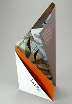30 cool 3d pop up brochure design ideas brochures direct mail a brochure introducing the work of chinese american architect i the construction of the brochure references peis architectural language pronofoot35fo Choice Image