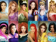 Celebrity Princesses