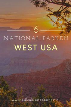 Als je gaat roadtrippen door het westen van de Verenigde Staten kan een bezoekje aan de National Parken natuurlijk niet ontbreken. In 2015 maakten wij een roadtrip door de Verenigde Staten en bezochten we de vier staten Arizona, Californië, Nevada en Utah. Wat ons betreft kun je de Verenigde Staten niet verlaten zonder één of meerdere National Parken te hebben bezocht! Voor jullie hebben we zes leuke National Parken in het westen van de Verenigde Staten op een rijtje gezet. Bryce Canyon, Grand Canyon, Travel Advice, Travel Guide, West Usa, Death Valley, North America, The Good Place, Dutch