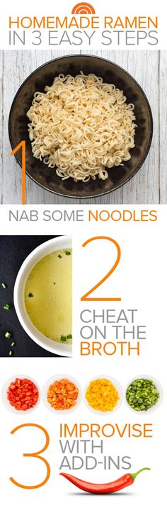 The ultimate comfort food: Make the best-ever homemade ramen in 3 easy steps:
