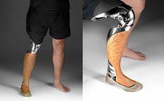 Industrial designer Scott Summit makes beautiful prosthetics - Imgur