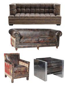 Canapé TOGO cuir Michel Ducaroy ligne Roset boutique vintage | Home ...