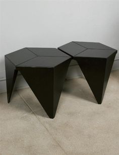 Isamu Noguchi, PAIR OF PRISMATIC TABLES