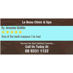 One of the bedt masseur  I've  had