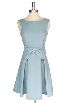 Baby Blue #Bow Dress $39