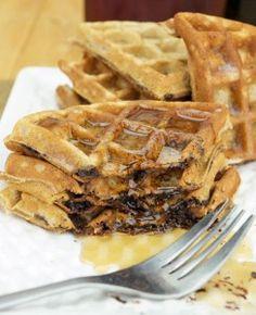 Resep Sarapan Waffle Coklat