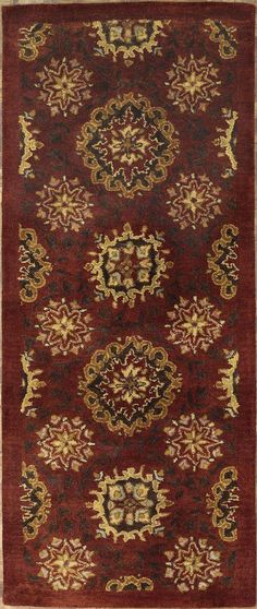 New Contemporary Indian Area Rug 62715 -