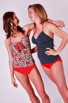 Modest Swimsuits -- custom made to fit.